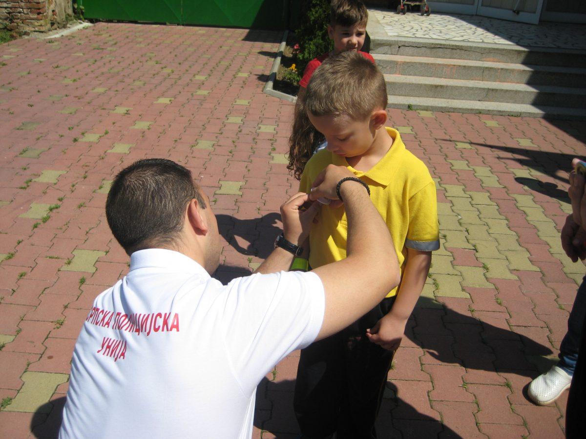 Bela Crkva Srpska policijska unija vrtic bezbednost u saobracaju