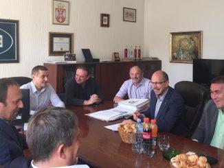 delegacija regiona Hradec Kralove u Beloj Crkvi