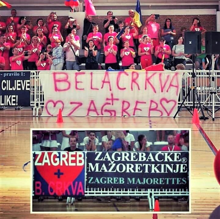 Belocrkvanske i Zagrebacke mazoretkinje