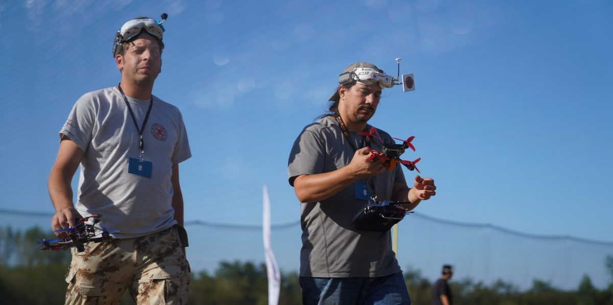 Trka dronova Vracevgajsko jezero