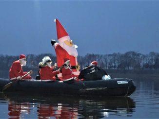 Podvodni Deda Mraz