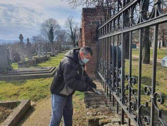 OO SNS Bela Crkva akcija uredjenja Katolickog groblja