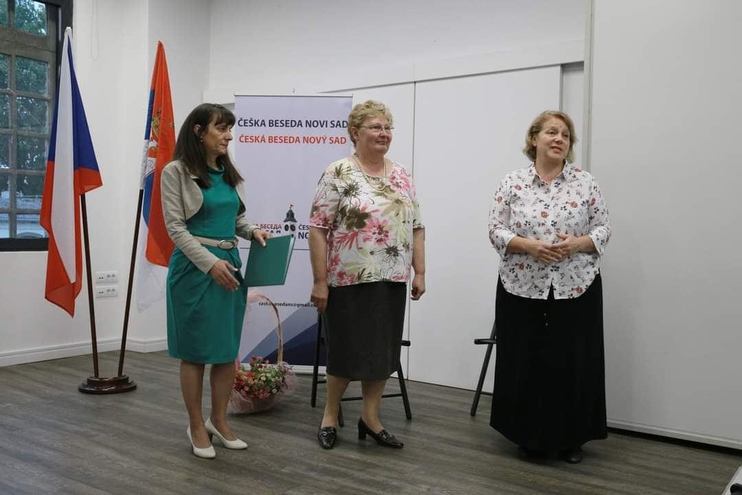Ljiljana Stehlik i Lidija Bubnjevic