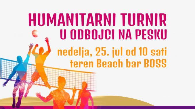 Humanitarni turnir u odbojci na pesku