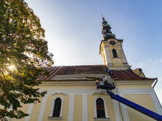 Pravoslavna crkva radovi na krovu